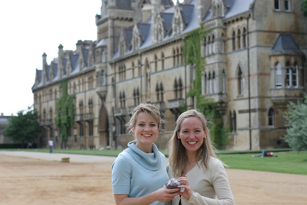 Michelle at Oxford (2008)