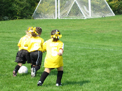 Hailey's Soccer game on 9/21/08