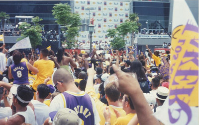 Lakers 2000 Championship parade