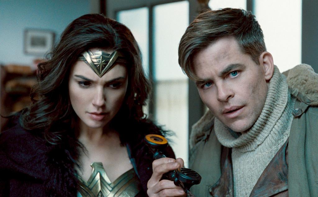 ". Gal Gadot and Chris Pine star in \""Wonder Woman,\"" in theaters June 2.  (DC Comics-Warner Bros. Pictures)"