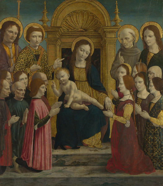 The Virgin and Child with Saints and Donors