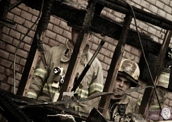 Algonquin Plaza Fire