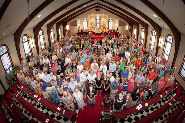 Saltillo First United Methodist Church 100 year anniversary