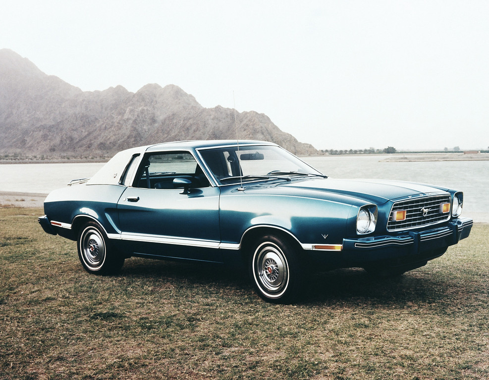 . The 1976 Ford Mustang. (AP Photo)