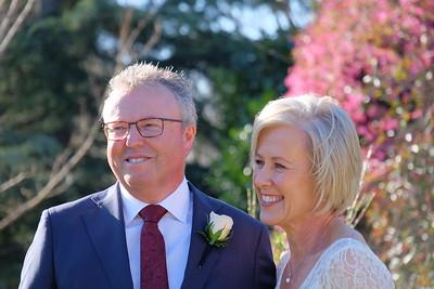 Malcolm and Elaine Wedding