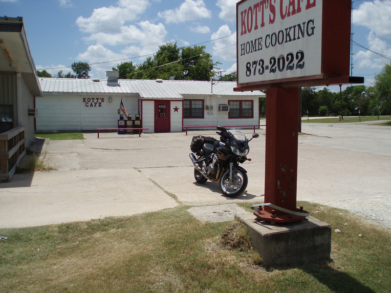 Kott's Cafe, Anderson, Texas Best burger on the planet, bar none. Closed on Sunday