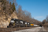 Norfolk Southern<br /> Arthur (Shawsville), Virginia<br /> November 21, 2010