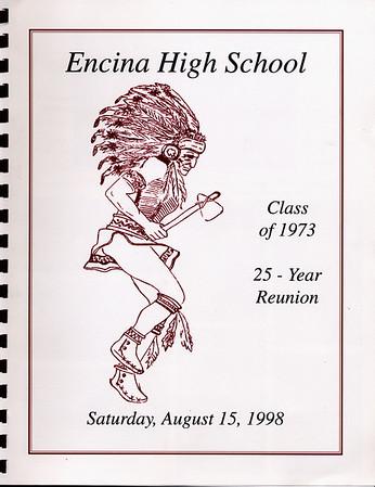 Encina Class of 1973: 25 year reunion memory book