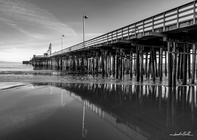 Pier Cowell Beach, Santa Cruz