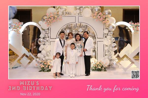 Mizu's 2nd Birthday instant print photo booth @ Caravelle Hotel Ho Chi Minh City | Chụp hình in ảnh lấy li�n Tiệc Sinh nhật tại TP. Hồ Chí Minh | Photo Booth Vietnam - Photobooth.vn