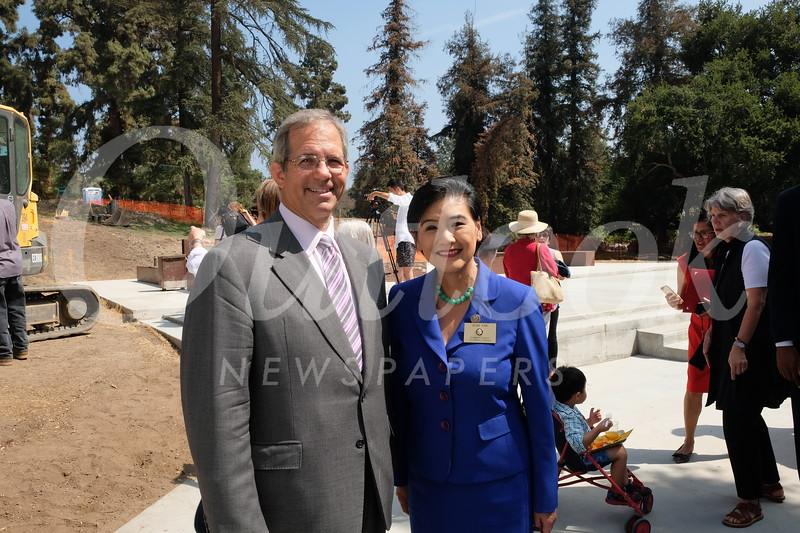 Huntiington Trustee Andrew Barth and Congresswoman Judy Chu