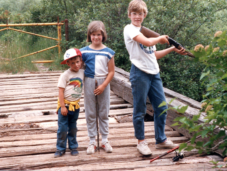Bridge to Terabithia 1984 | Our three kids