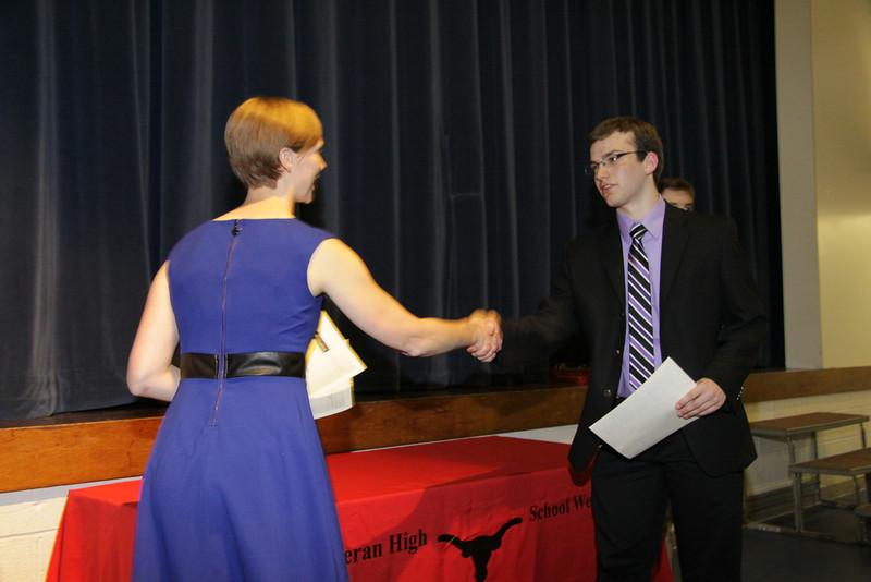 Awards Night 2012- National Merit Commended Scholar