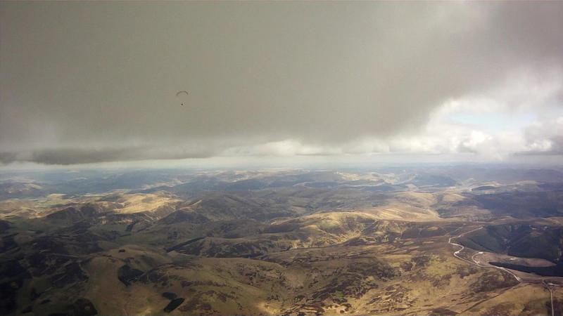 Crossing the moors high.