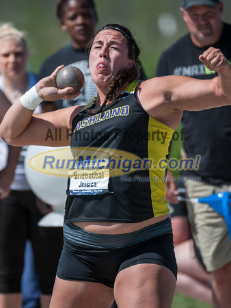 NCAA II - Shotput Women