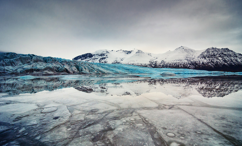Reflections of a Glacier
