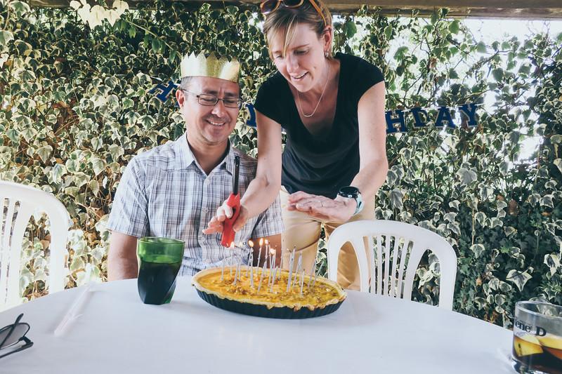 Vinny's 50 in Ecuador + Family Visit