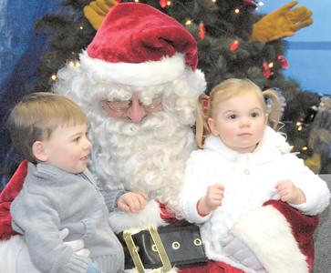 Santa visits Shellsburg