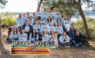 Turkey Camp Family Pics