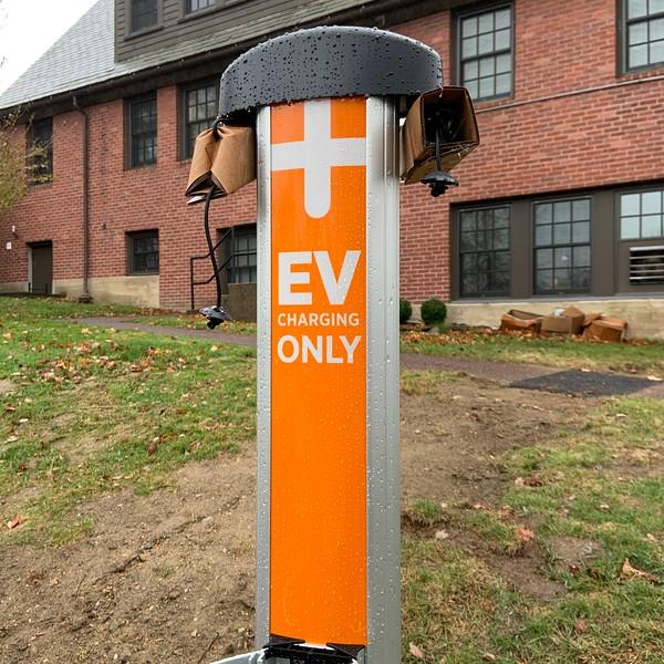 EV card station