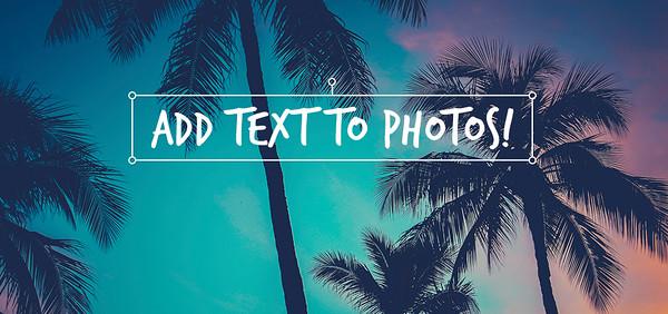 Fotografía + Texto = Publicidad exitosa