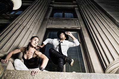 Stephanie and Eric Dance