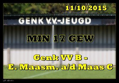 Genker VV - E. Maasm a/d Maas  GEW -17  11/10/2015