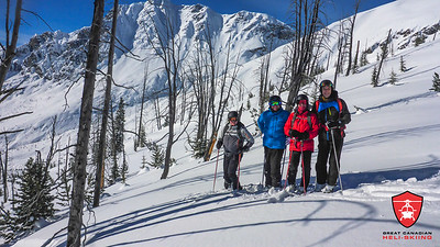 February 16-21, 2018 Great Canadian Heli-Skiing Guide Photos