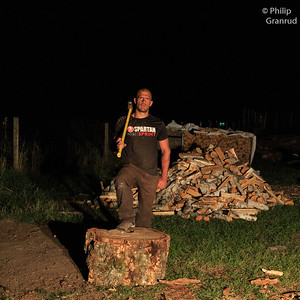 Woodcutting Photoshoot