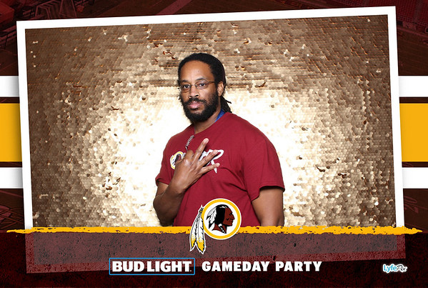 Washington Redskins vs Minnesota Vikings Bud Light Game Day at FedEx Field in Landover, Maryland