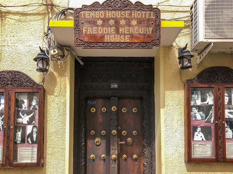 Freddie Mercury house in Stone Town