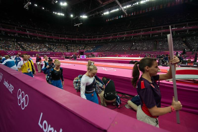 Annika Urvikko at London olympics 2012__29.07.2012_London Olympics_Photographer: Christian Valtanen_London_Olympics_Annika Urvikko at London olympics 2012_29.07.2012_DSC_3770_Annika Urvikko, finland, finnish athlete, gymnastics