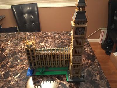 Big Ben and Parliament (November 2016)