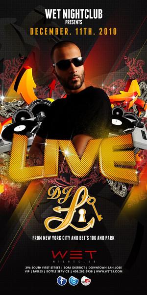 12/11 [LIVE@WET w/ DJ L]