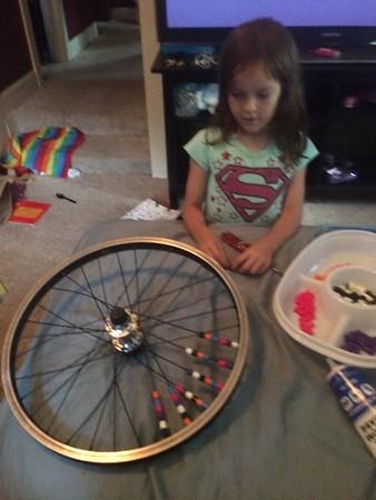The Kiddos bikes..