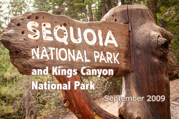 Sequoia & Kings Canyon 2009