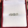 1.54ctw Antique Cushion Cut 3-stone Suite 2