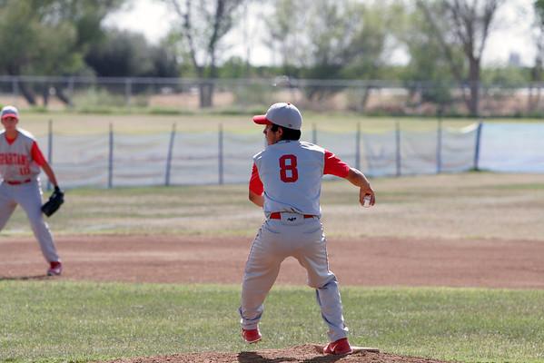 Corcoran @ Strathmore Baseball 4-23-13