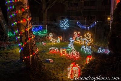 Illuminations de Noël à Hondschoote