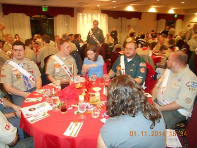 OA Lodge Banquet 2014