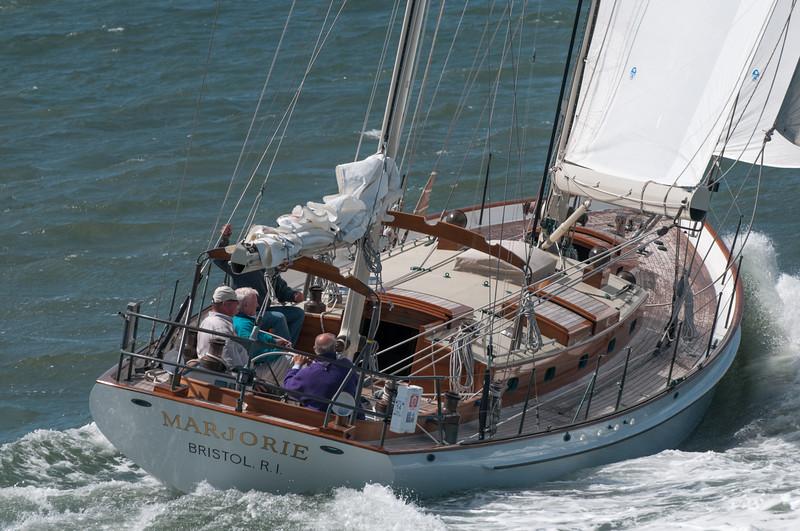 So ein Boot möchten wir auch gerne haben. Und natürlich einen Liegeplatz in San Francisco...