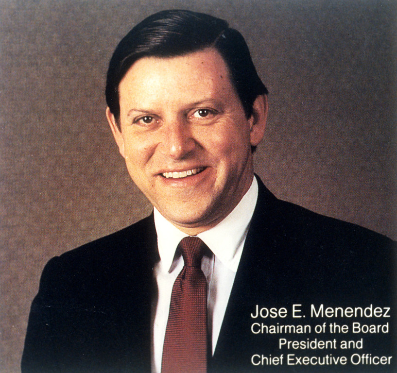 . This is a 1988 copy photo of Jose E. Menendez.   (L.A. Daily News file photo)