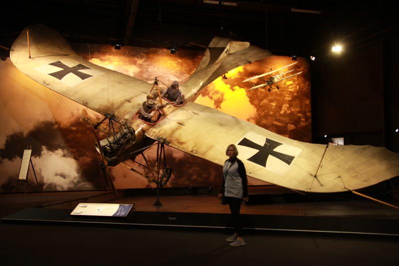 Peter Jackson's aero museum of WW1 planes