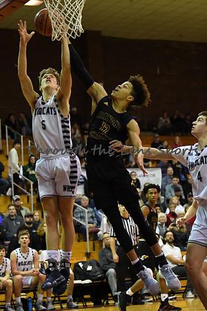 Rancho Christian vs. Wilsonville Boys  High School Basketball