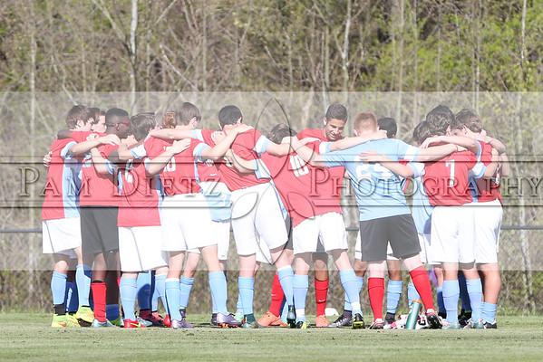 USJ v TCA boys soccer 4-5-16
