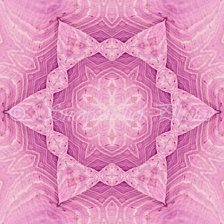 Pink Wave Snowflake