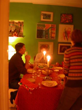 Oud En Nieuw 2006/7 Bij Netty