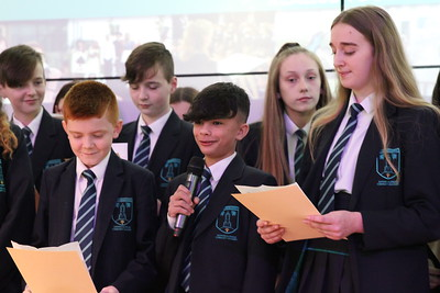 Yr 8 Commendation Assembly