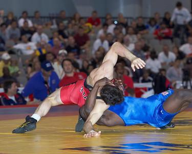 Greco-Roman Championships 55 Kg: Spenser Mango (Gator/USOEC) def Lindsey Durlacher (New York Athletic Cl) Dec 1-2,4-0,1-1