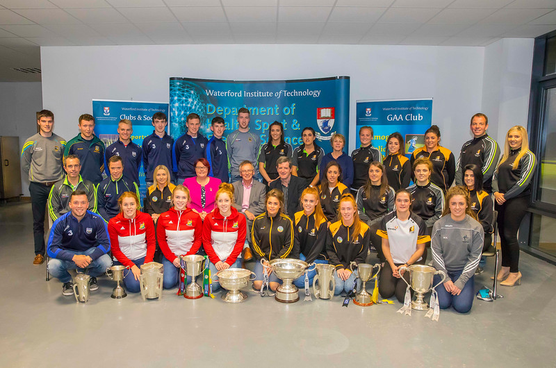 WIT holds event to honour 2016 All Ireland medal winning students. Picture: Patrick Browne  Waterford Institute of Technology's presence and influence across Gaelic Games at a national level in 2016 has been very noticeable. In total there are 32 past and present WIT students on the respective playing panels that won All Ireland medals in 2016 and a further 4 members on the backroom management teams.   To honour this huge achievement, WIT GAA Club is paying tribute to these 36 past members on securing these prestigious national titles on Monday 3 October, 6.30pm at the WIT Arena.   Along with the players, the prestigious cups, including the All Ireland Senior Hurling Cup- Liam McCarthy, the All Ireland Senior Camogie Cup- O'Duffy, The All Ireland Minor Cup and the All Ireland Under 21 Hurling Cup- James Nowlan, will be on show on the night.